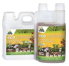 Eco Aminogro - Registered Organic Liquid Fertiliser - Promotes Healthy Plant