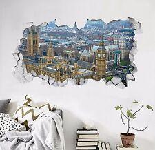 3D London View 284 Wall Murals Wall Stickers Decal Breakthrough AJ WALLPAPER AU