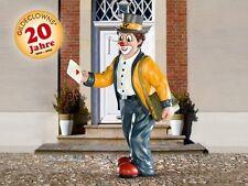Gilde Clown - Die Gute Nachricht - Postbote  Sammlerfigur Briefträger NEU 10175
