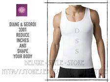 Abdomen Control MEN Undershirt Shapewear FREE SHIPPIN Geordi 3301 REDUCE VOLUMEN