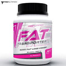 FAT TRANSPORTER 90/180 Caps. Choline L-Carnitine Chromium Weight Loss Slimming