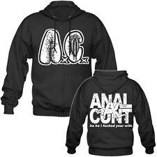 ANAL Cunt/axcx-I F * CK... - Hooded Zipper (Meat Shits, cerebrovascolare), GG Allin