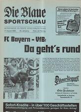BL 85/86 FC Bayern München - VfB Stuttgart (Blaue)