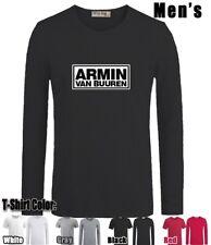 Armin Van Buuren Design Men's Boy's T-Shirt Graphic Tee Tops Long short Sleeves