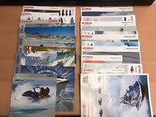 Genuine Yamaha Jetski Brochures 2003-2018 Books Leaflets Kawasaki Seadoo