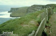 CLIFFS MOHER OCEAN VIEW IRELAND BURREN IRISH TRAVEL POSTER REPRO