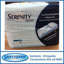 TRAVERSE SALVAMATERASSO SERENITY CLASSIC 60x90 o 80x180 cm - 15 pezzi