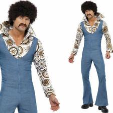 Men's 1970s Disco Fancy Dress Costume
