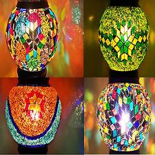 Hecho a Mano Turkish Marroquí Colorido Lámpara Pantalla de Cristal Repuesto
