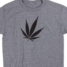 Pot Leaf T Shirt Marijuana Weed Green Rasta 420 Hippy Cannabis Tee Legalize It