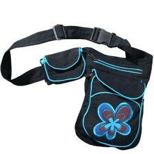 Bum Bag Waist Belt Hippie Psy Festival Floral Motif
