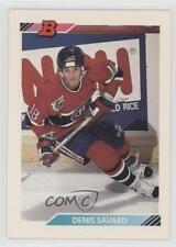 1992-93 Bowman #64 Denis Savard Montreal Canadiens Hockey Card