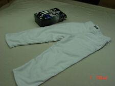 NIB Girls Easton FastPitch Pants Baseball White Unused Unworn Sport Black stripe