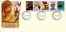 1985 Australiana: Classic Children's Books FDC - Perth WA 6000 PMK