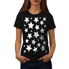 Multiple Star Effect Women T-shirt S-2XL NEW | Wellcoda