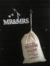 Personalised Bridesmaid Gift Bag -  Various Sizes - Gemma Design