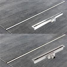 acier inox Caniveau de douche siphon sol gouttière Drain la rond ou carré