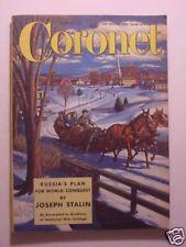 CORONET January 1951 RICHARD RODGERS RADCLIFFE RUDOLPH VALENTINO THOR HYERDAHL +