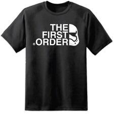 Mens Star Wars First Order Stormtrooper T Shirt (S-3XL) Rogue One Episode 8 VIII