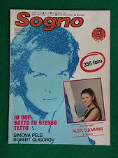 Fotoromanzo Lancio SOGNO 1981 n.10 , S.PELEI R.GLIGOROV con Poster ALEX DAMIANI