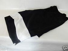 Nike Negro Blanco De Hombre Pantalones Cortos Cintura Elástica con cadena de empate S M L BNWT