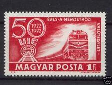 Hungría 1972 Sg # 2717 Unión Ferroviaria Mnh