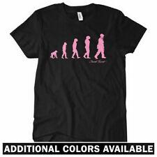 REVOLUTION Women's T-Shirt - Hip Hop Rap DJ Music Vinyl MC 45 Adapter Funk S-2XL