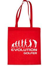 Evolution of Golf Golfer Golfing Bag For Life Shopping Tote Bag Ladies Gift