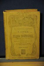1911 -  MANUALE HOEPLI - IL CODICE DEL PERITO MISURATORE