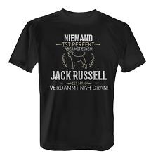 Jack Russell Herren T-Shirt Spruch Perfekt Geschenk Hunde Besitzer Rasse Lustig