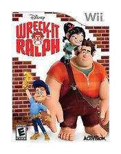 WRECK IT RALPH Nintendo Wii Game Disc