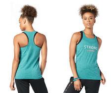 STRONG by Zumba Squat Sync Sweat Seamless Tank - Deep Emerald Z1T01632