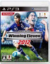 PS3 World Soccer Winning Eleven 2012 Japan Import Japanese version Football Game