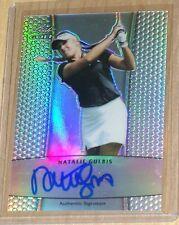2011 Leaf Metal Golf Natalie Gulbis autograph prismatic parallel /50