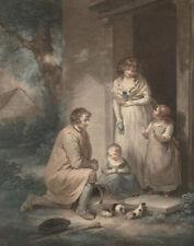"George Morland : ""Guinea Pigs"" (1789) — Giclee Fine Art Print"