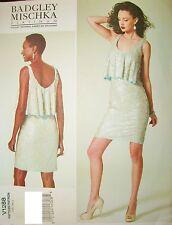 Vogue 1288 Pattern Designer Badgley Mischka Dress 4-6-8-10-12 OR 12-14-16-18-20