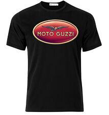 Moto Guzzi II - Graphic Cotton T Shirt Short & Long Sleeve