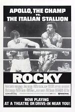 """ROCKY"" ..Version 2 .Sylvester Stallone  Retro Movie Poster A1A2A3A4Sizes"