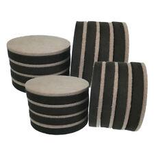 16 Pcs Heavy Duty Reusable Furniture Felt Sliders Hardwood Floor Moving Pads