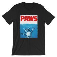 Paws-2 T-Shirt. Jaws Movie 100% Cotton Premium Tee New
