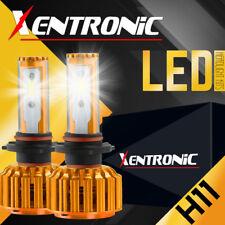 Super Bright H11 H9 H8 LED Headlight Fog Light Bulb Conversion Kit 6000K White