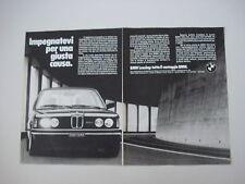 advertising Pubblicità 1981 BMW 320