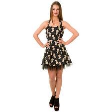 Banned Mini Kleid - Distractions Voodoo Dolls