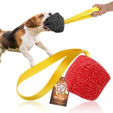 Small Medium Dogs Training Tug Toys Young Dog Bite Chew Suit Fabirc K9 Police
