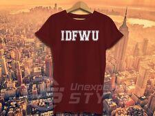 Idfwu T SHIRT big sean hip hop rap paroles Kid acide I don't F ** K avec vous tshirt
