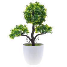 Plastikpflanze künstlich begrüßt Baum Kunstpflanzen Kunstbonsai Kunst Bonsai Neu