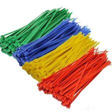 Confezione da 15 FASCETTE Nylon plastica colorata forte piccole taglie grandi Zip Tie Wraps