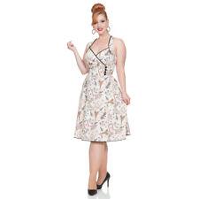 Voodoo Vixen Rockabilly Vintage Swing 50er Retro Kleid - Claudine Parisienne