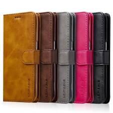 Handy Tasche für Samsung iPhone Flip Cover Case Schutz Hülle Etui Schale Wallet