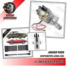 Jaguar & Daimler 6 Cylinder Electronic Distributor Lucas 45D6, Coil & Leads